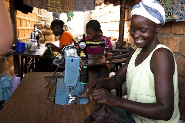 Sy prosjekt i Burundi