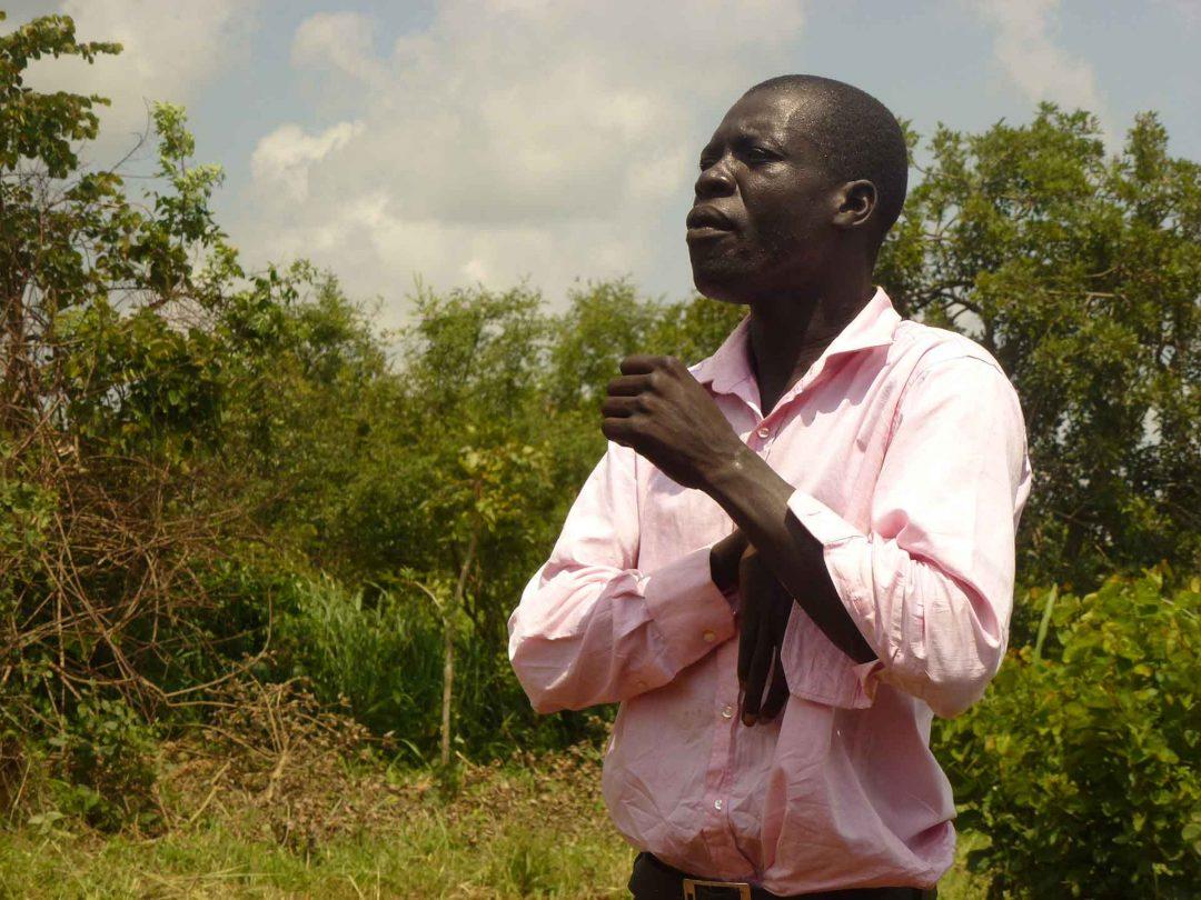Dennis Dagkene fra Uganda