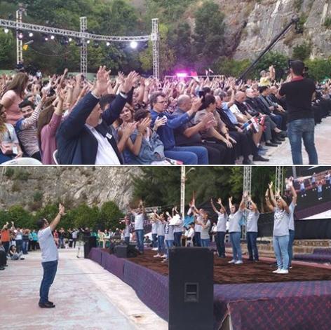 DMI Syria med på Syriske kristnes festival!